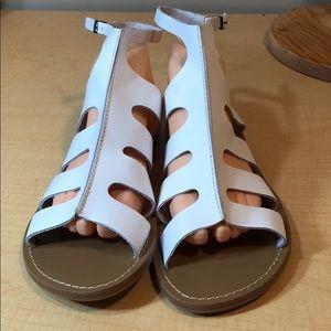 90c50f46d4f Cathy Jean Shoes - 🆕🆕 Brazilian leather ankle strap flat sandal